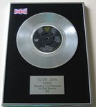 ELTON JOHN - DANIEL PLATINUM Single Presentation Disc